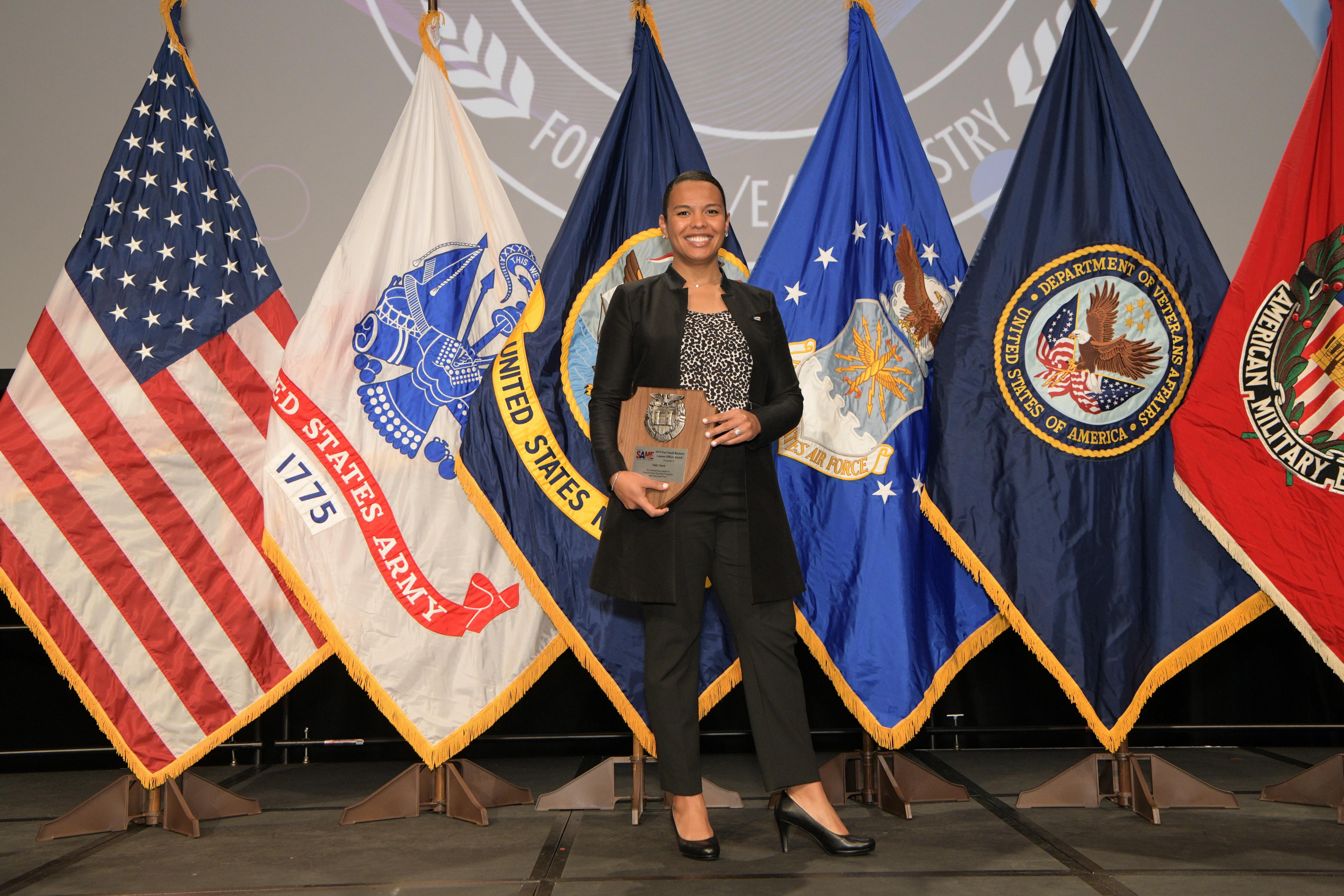 The 2019 Award Winner Sally Clark